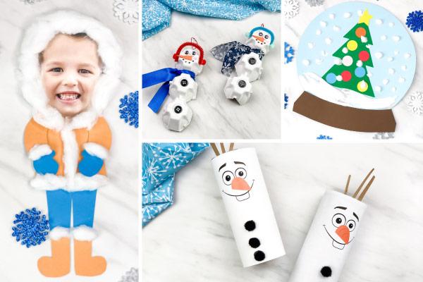 winter craft idea for preschool