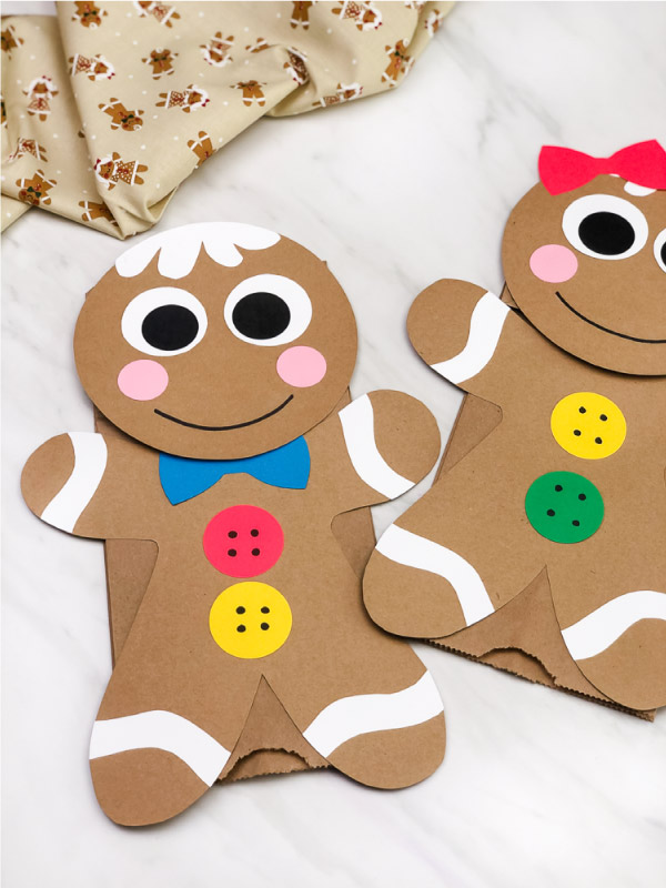 gingerbread man christmas craft
