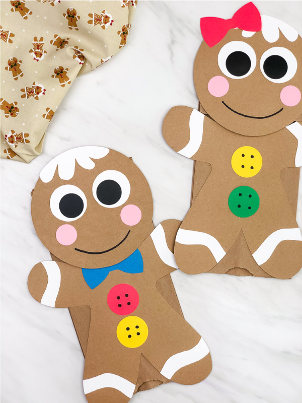 gingerbread kids craft