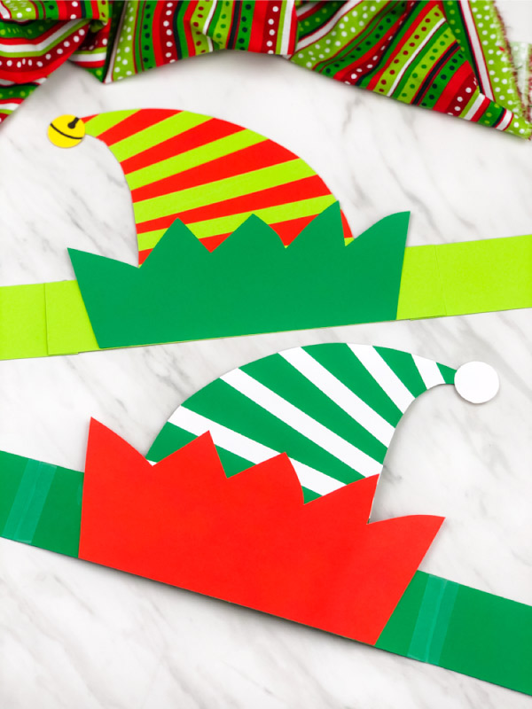 christmas elf headband craft