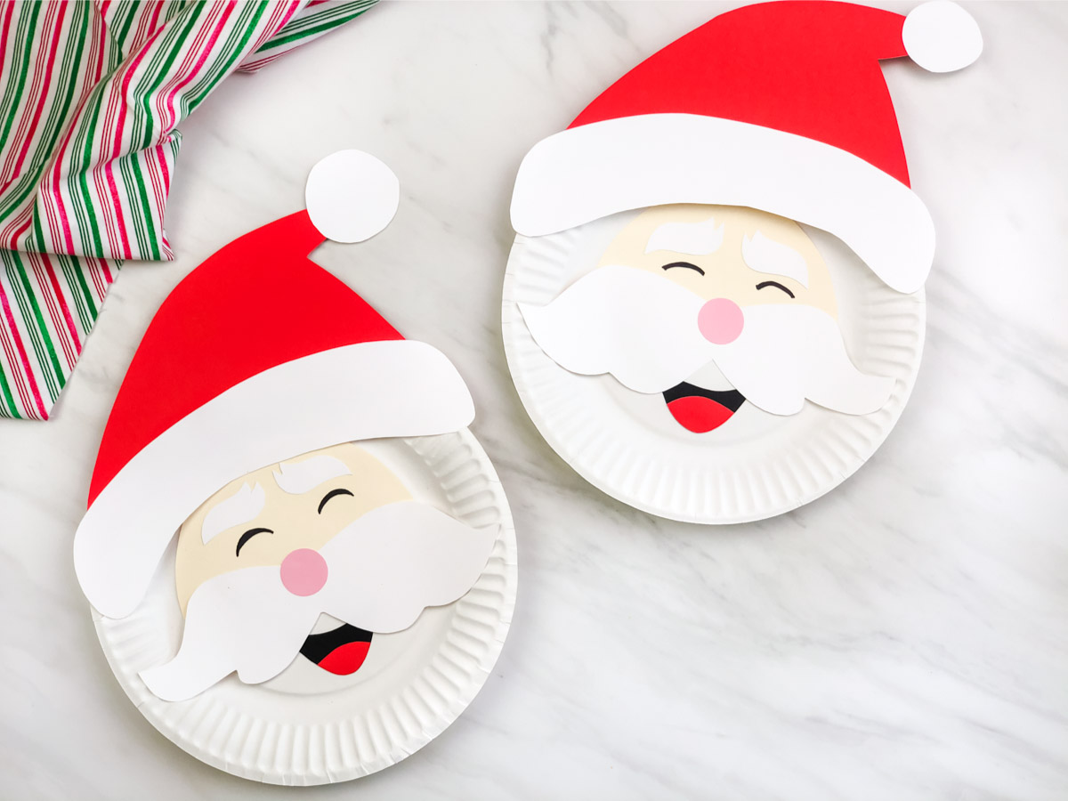Because I Said So (and Other Mommyisms): Paper Plate Santa Claus   900x1200