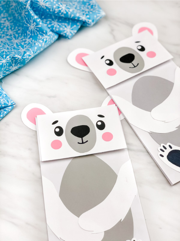 easy polar bear craft for kids
