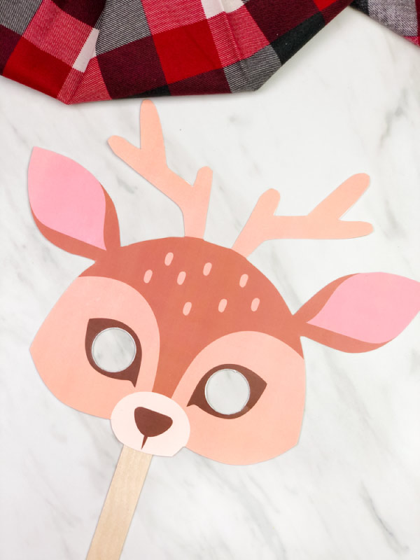 Reindeer mask craft