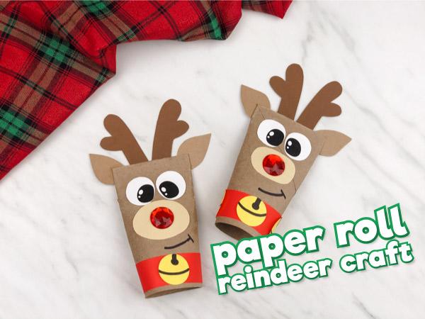 Toilet Paper Roll Reindeer Craft