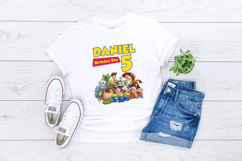 Toy Story 4 birthday shirt for kids