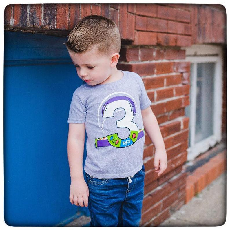 Toy Story 4 birthday shirt