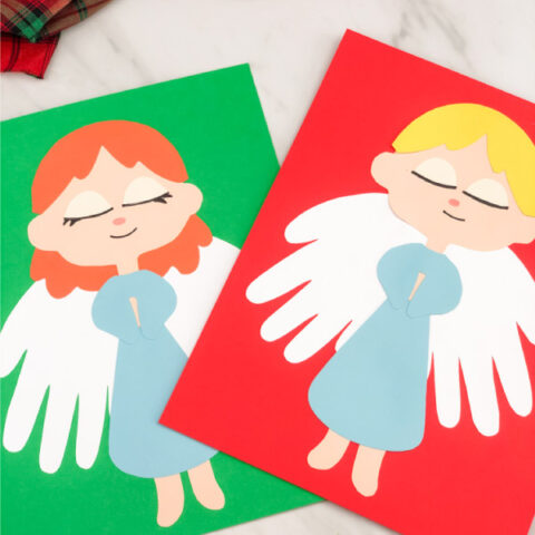 angel craft for preschoolers