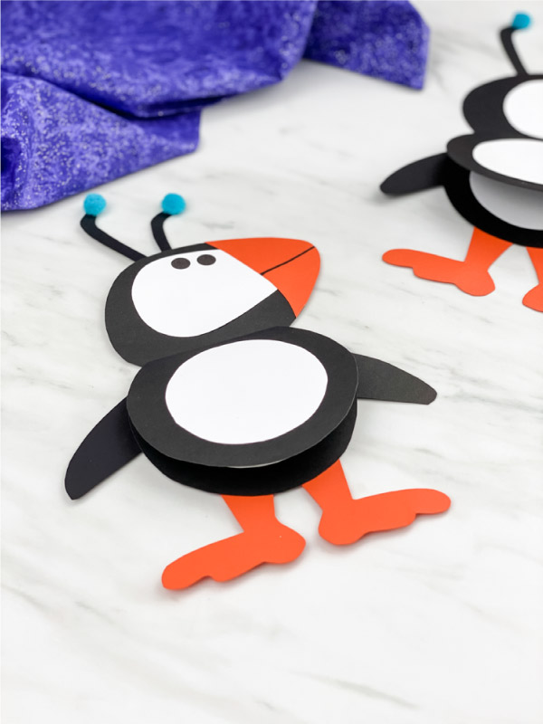 elf arctic puffin craft
