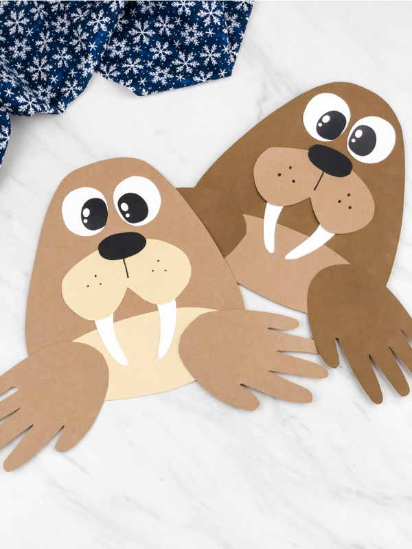 easy walrus craft
