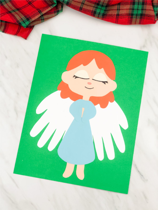 girl angel craft