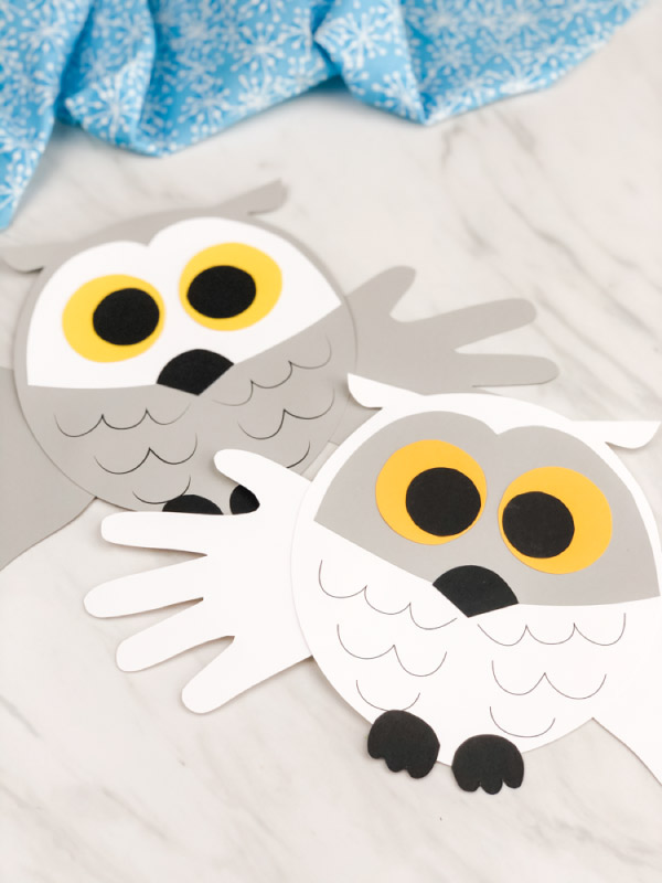 winter owl craft
