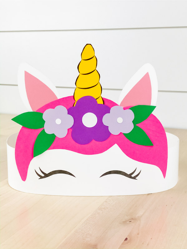 Unicorn Headband Craft For Kids