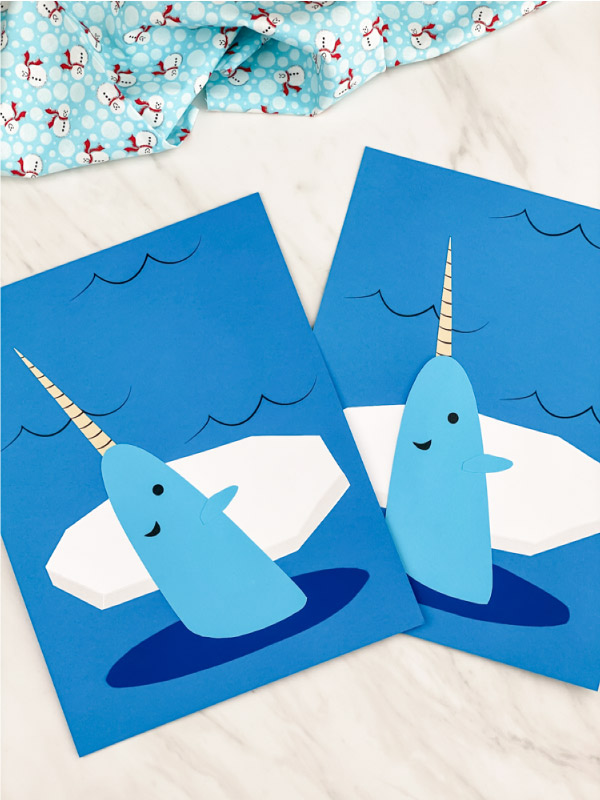 narwhal kids craft