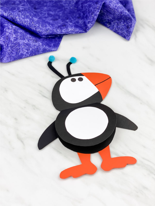 puffin card craft