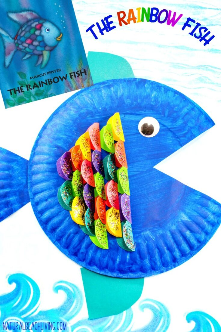 Super Cute Paper Plate Fish Craft for Kids