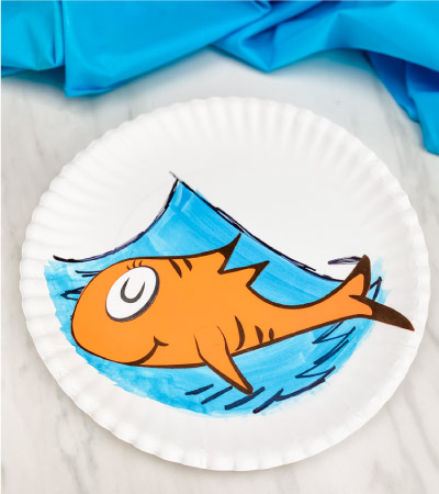 Dr Seuss Paper Plate Fish Craft Free Template