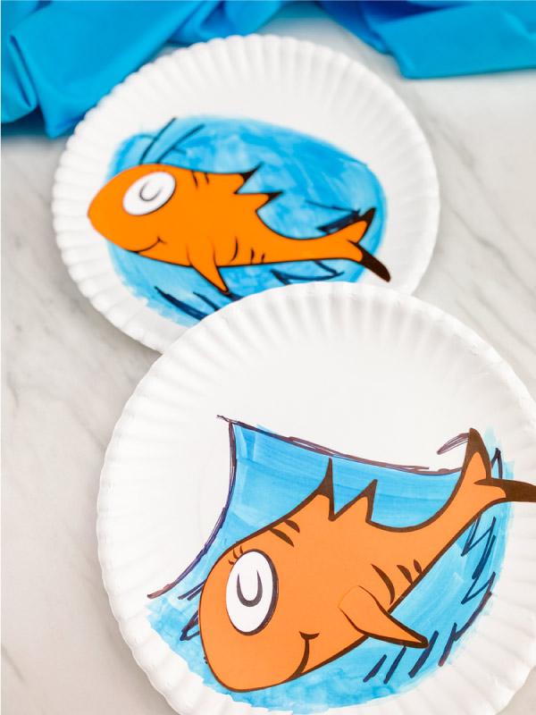 cat in the hat fish craft