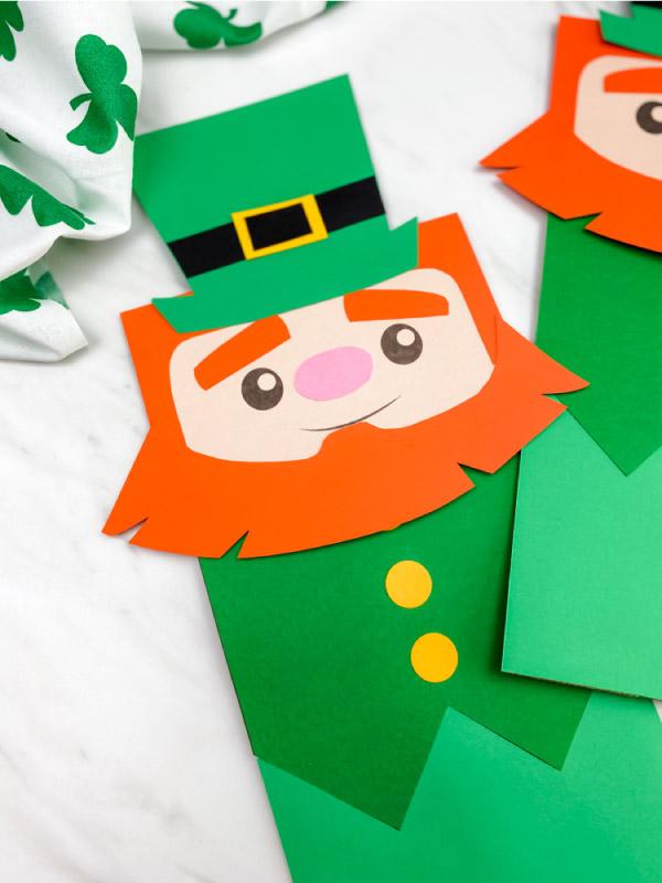 leprechaun puppet craft