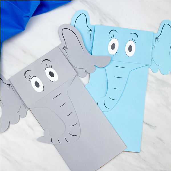 horton puppet craft for kids
