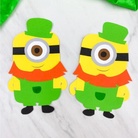 Leprechaun Minion Craft For Kids