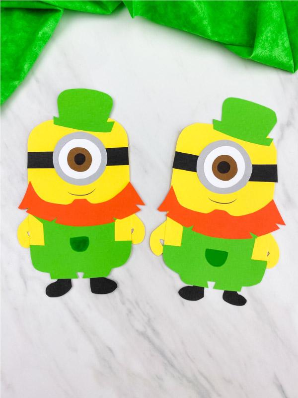 minion leprechaun craft