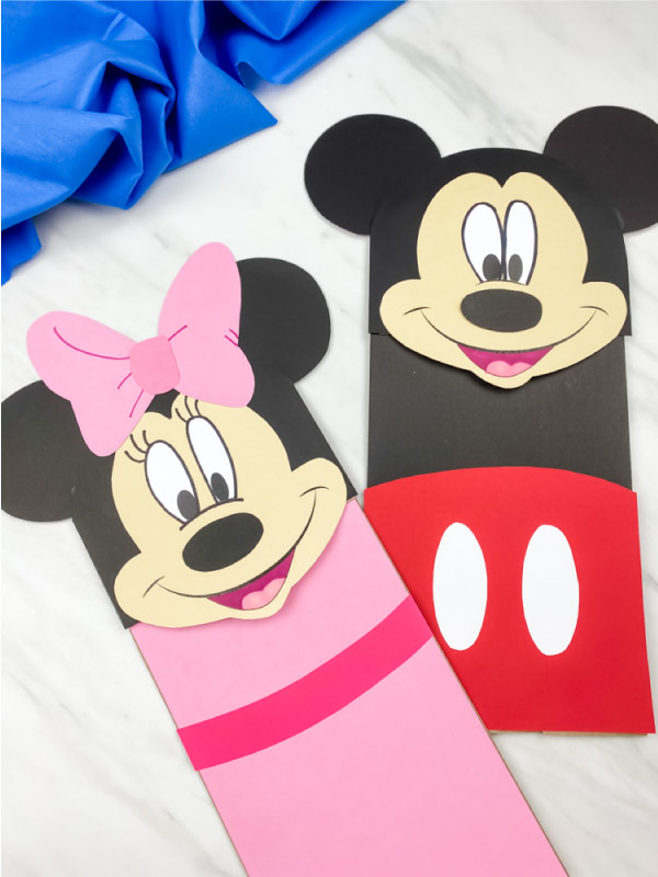 Minnie & Mickey Mouse Puppet