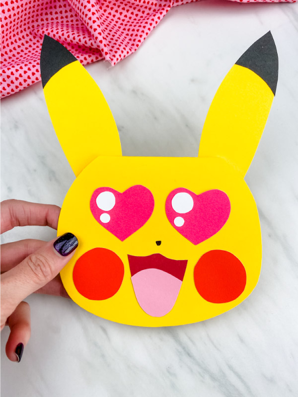 pikachu card craft