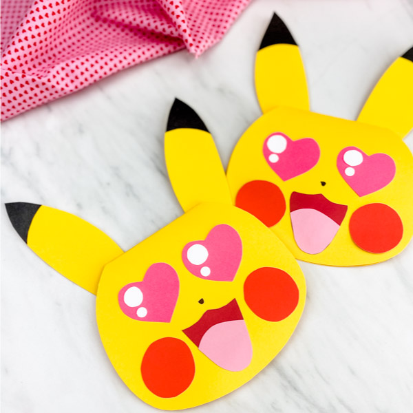 pokemon valentine card craft