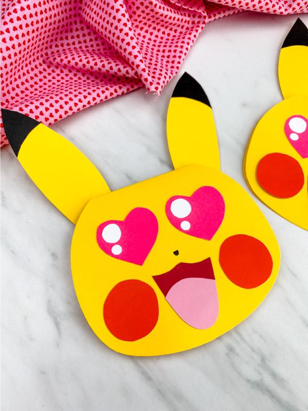 pikachu card craft
