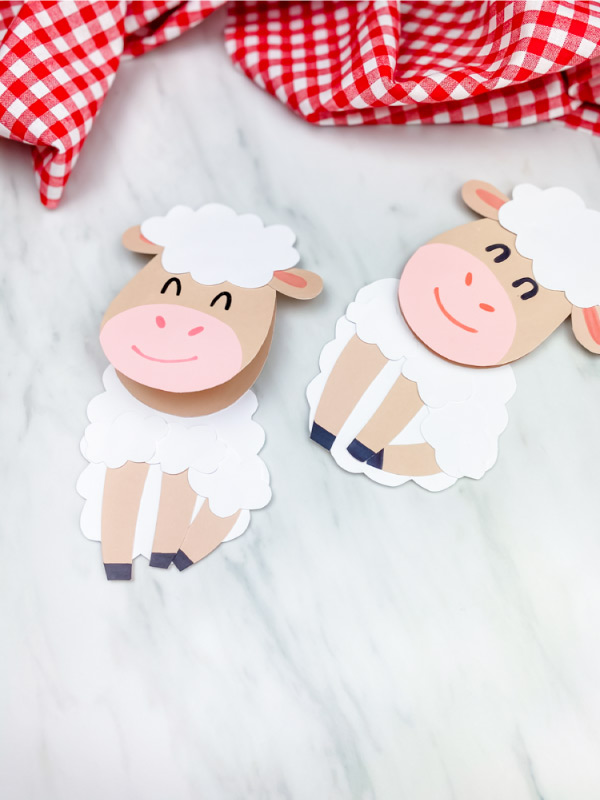 two sheep crafts