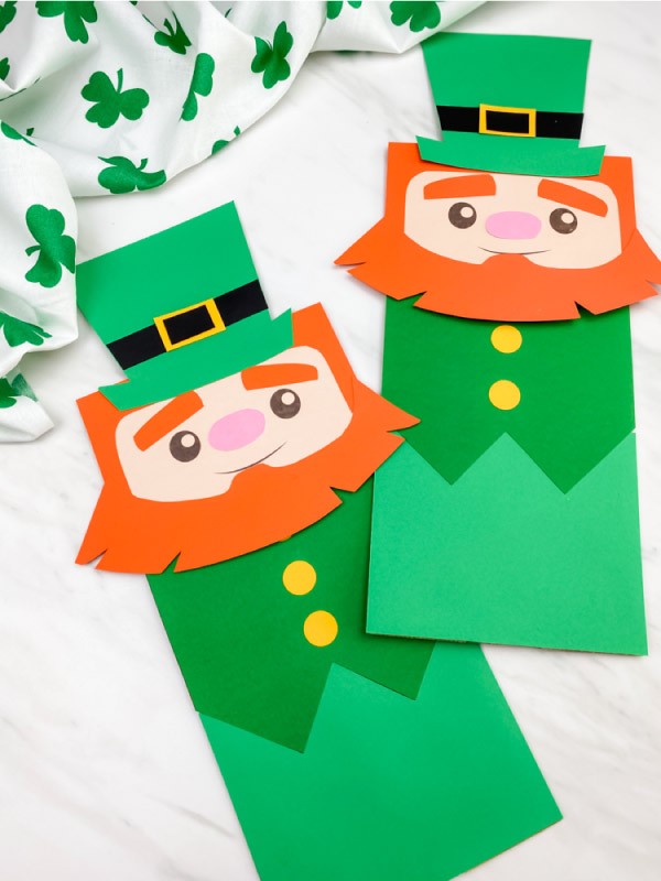 simple leprechaun craft