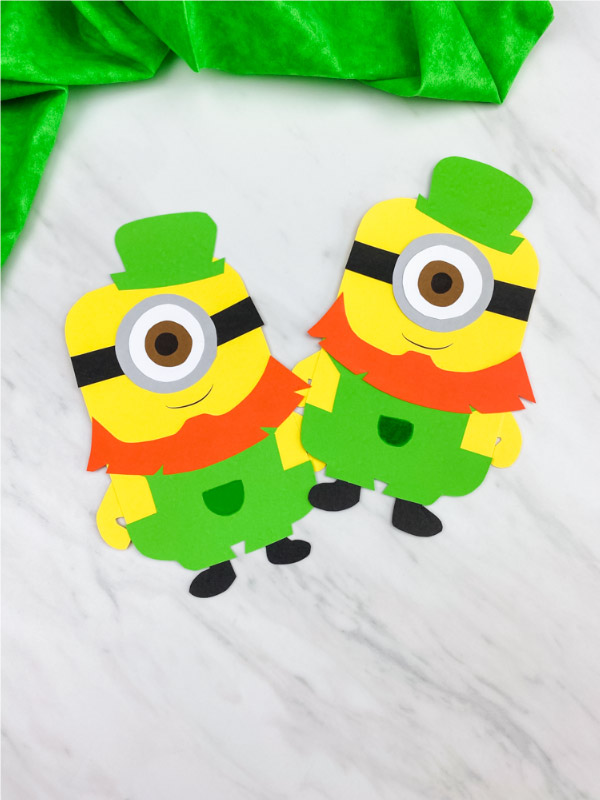minion leprechaun craft for kids