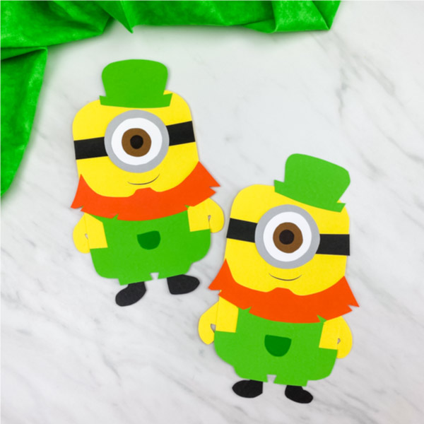 st patricks day minion