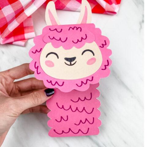 llama card craft