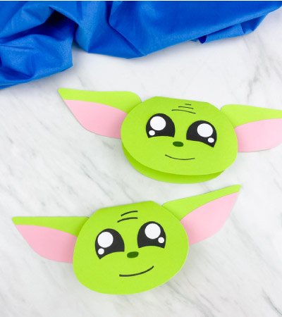easy yoda card craft