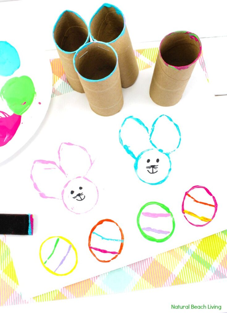 Easy Easter Bunny Crafts for Preschoolers