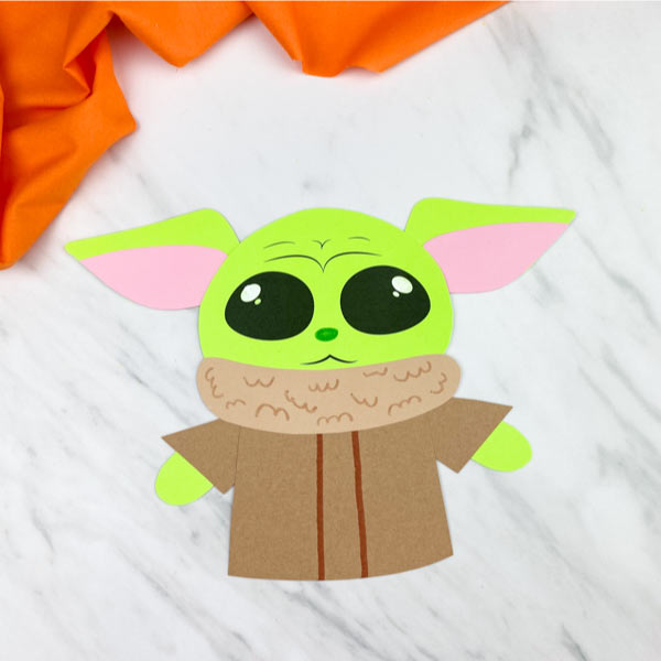 simple baby yoda craft