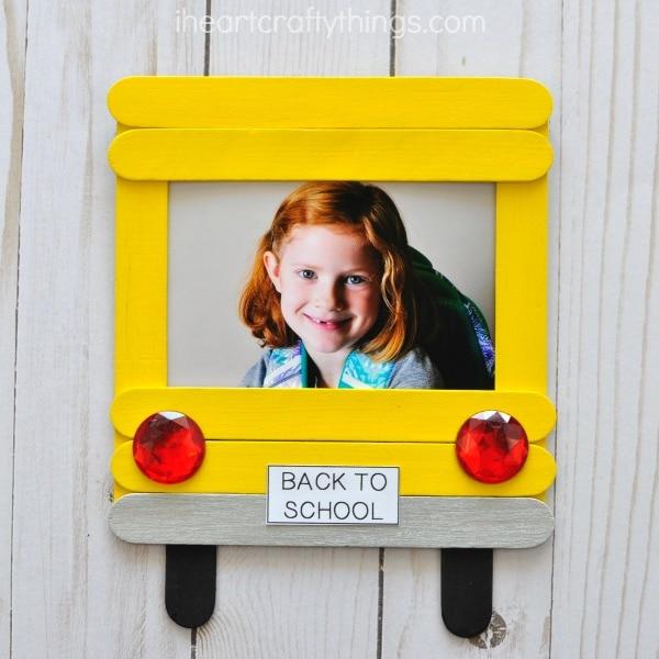 DIY Back-to-School Photo Frame