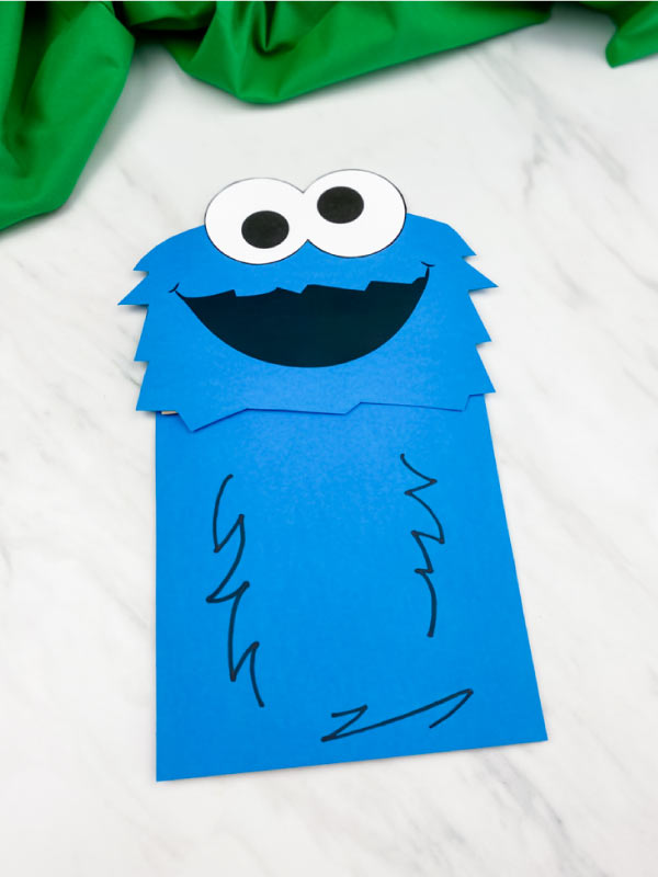 cookie monster craft idea