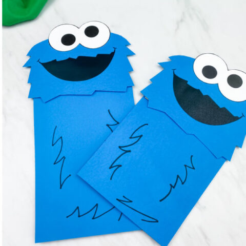 cookie monster craft
