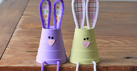 How to Make Foam Cup Bunnies