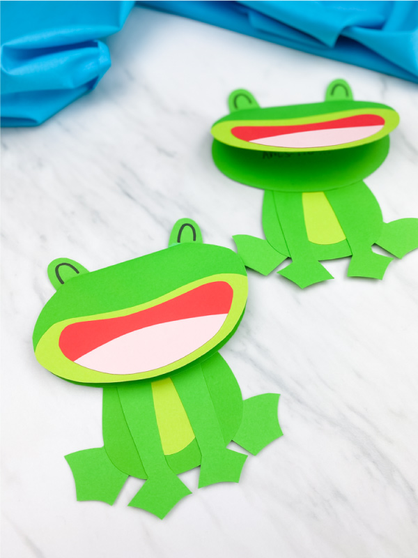 two frog cards