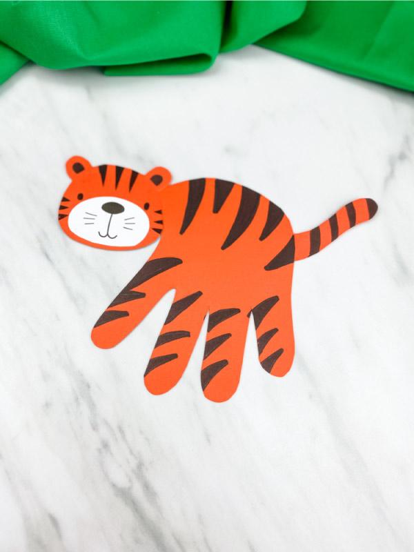 orange paper tiger