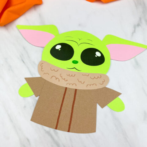 easy yoda baby craft