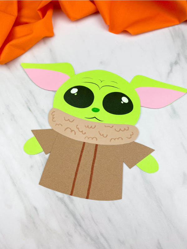easy yoda baby craft