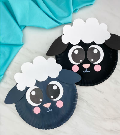 black and gray sheep craft