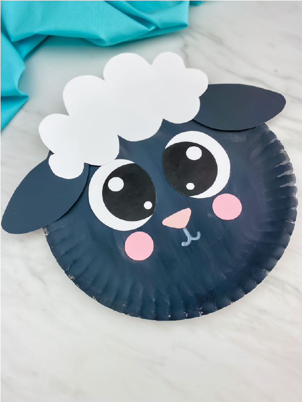 dark grey sheep craft