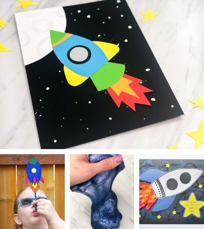 Space crafts for kids images