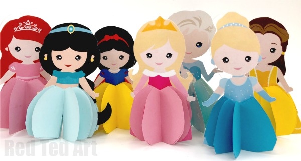 Paper Disney Doll DIY - Princess Printables