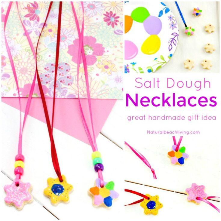 Salt Dough Necklaces